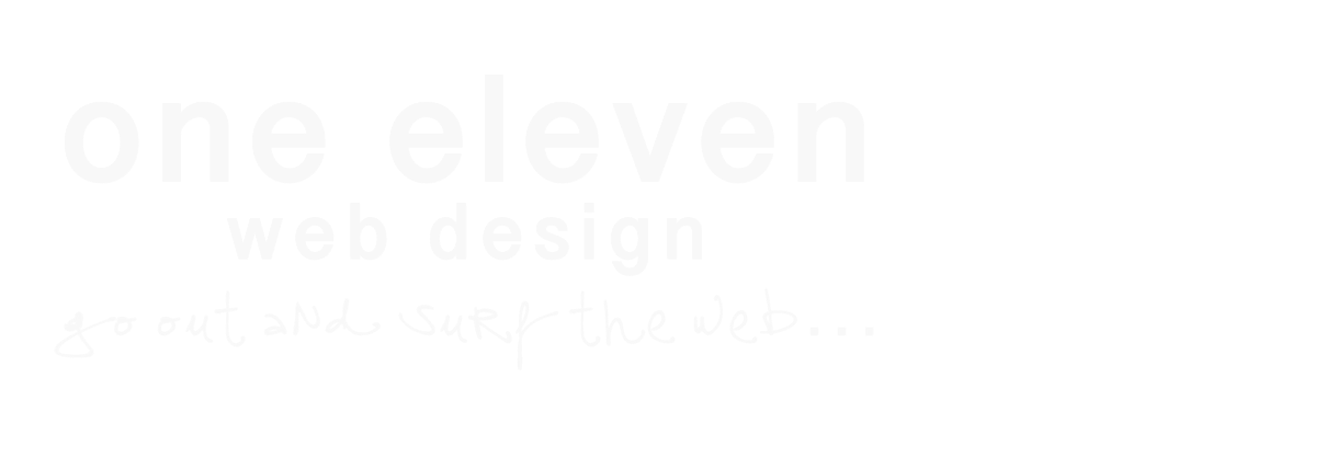 one eleven web design logo